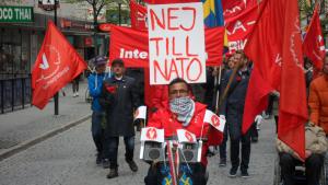 Jihad Menhem Nej till NATO